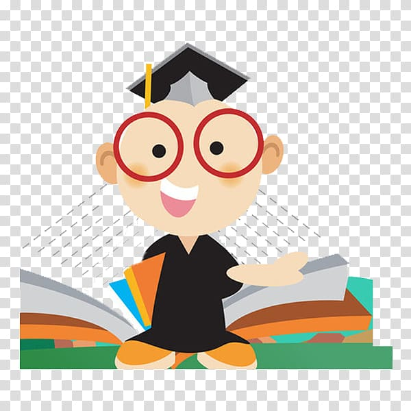 Taking care of books clipart freeuse download Doctorate Cartoon Illustration, Open the book transparent ... freeuse download