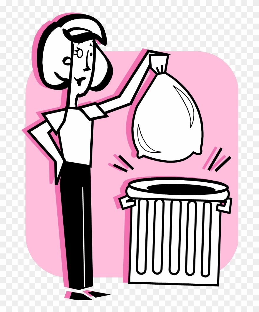 Taking out the garbage clipart image transparent library 2 - - Take Out The Garbage Cartoon Clipart (#547321 ... image transparent library
