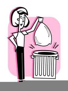 Taking out the trash clipart picture free stock Taking Out Trash Clipart   Free Images at Clker.com - vector ... picture free stock