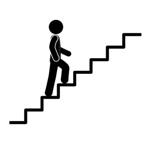 Taking steps black and white clipart jpg transparent Steps clipart black and white for free download and use ... jpg transparent