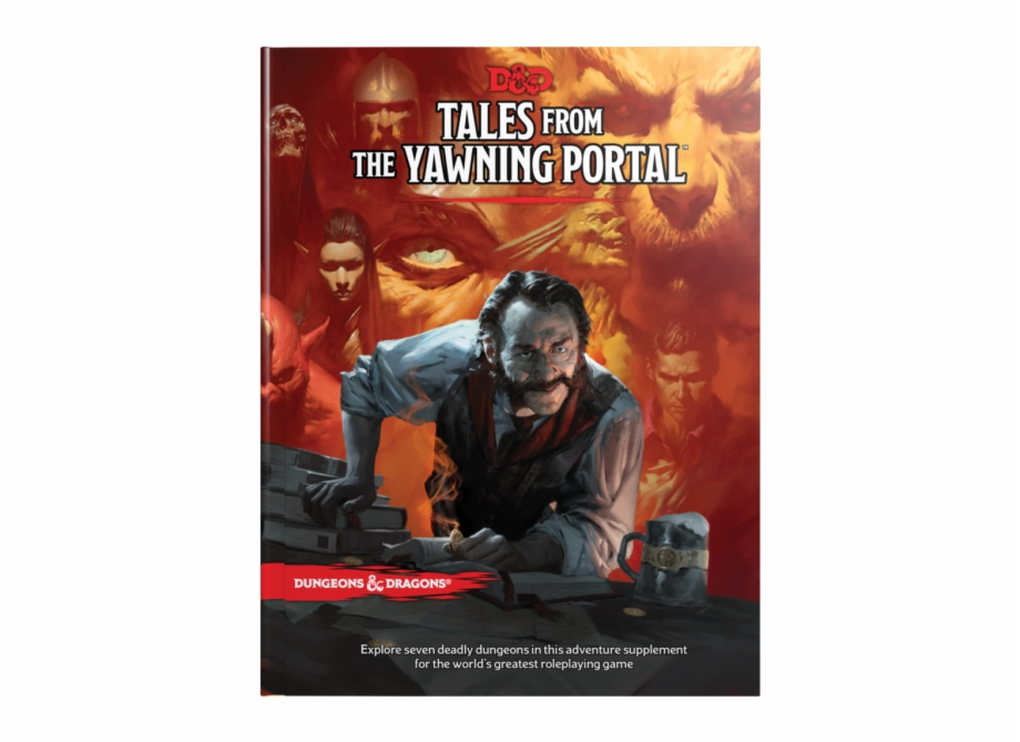 Tales from the yawning portal clipart image royalty free library Tales From The Yawning Portal Cover Free PNG Images ... image royalty free library