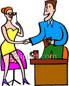 Talk show host clipart svg Talk Show Host Shaking Hands with a Guest - Royalty Free ... svg