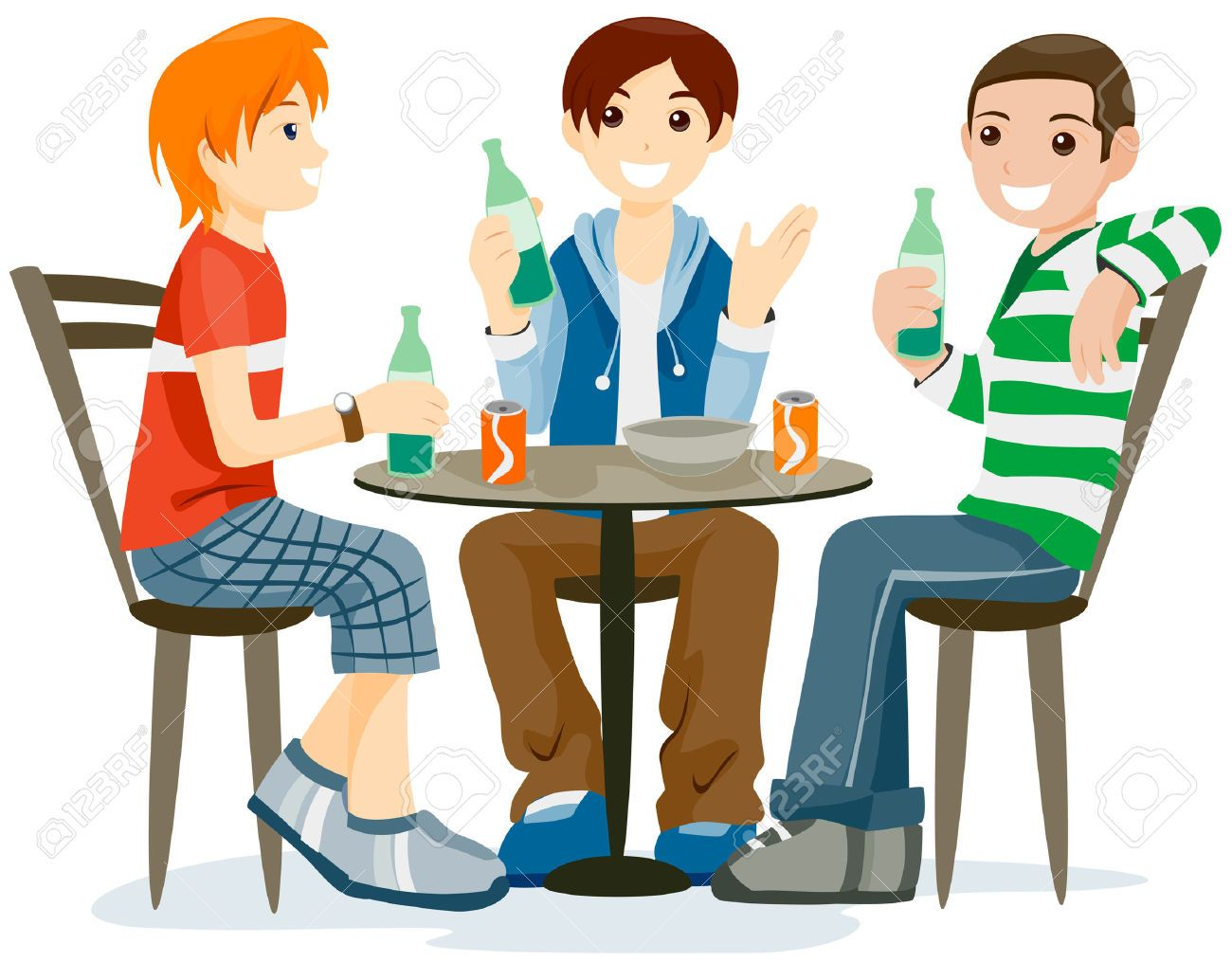 Talk to friends clipart free Talking with friends clipart 5 » Clipart Station free