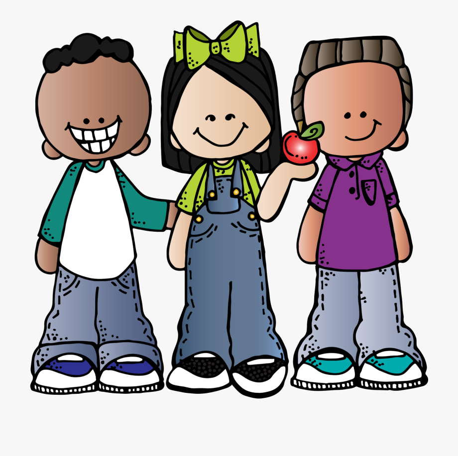 Talk to friends clipart black and white library Friends Talking Clip Art - Melonheadz Kids Clip Art #105497 ... black and white library