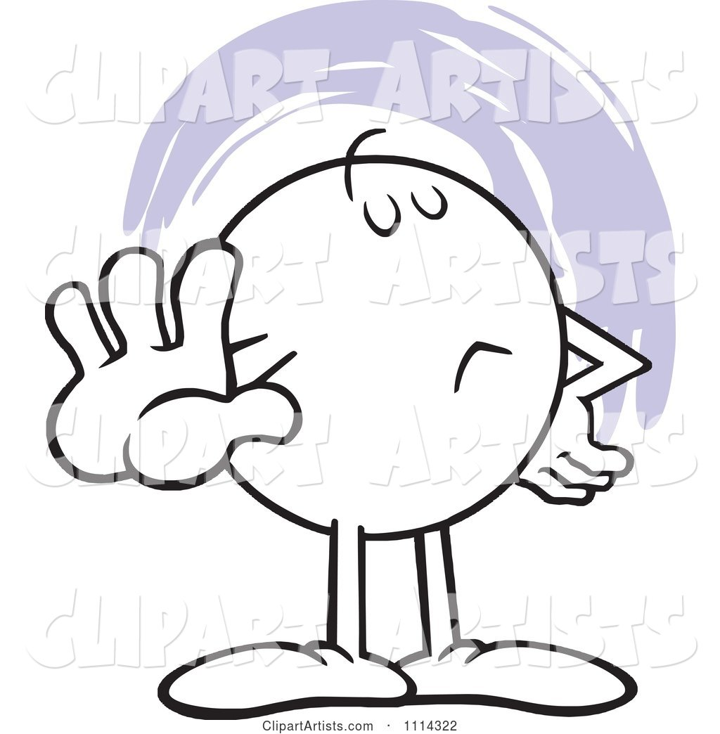 Talk to the hand clipart graphic library stock Moodie Character Holding Out A Talk To The Hand Palm Clipart ... graphic library stock