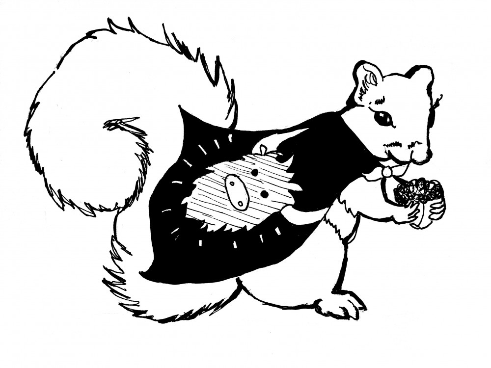 Talk with shopman for buy wine clipart clipart clip art stock The mythological existence of Bowdoin squirrels — The ... clip art stock