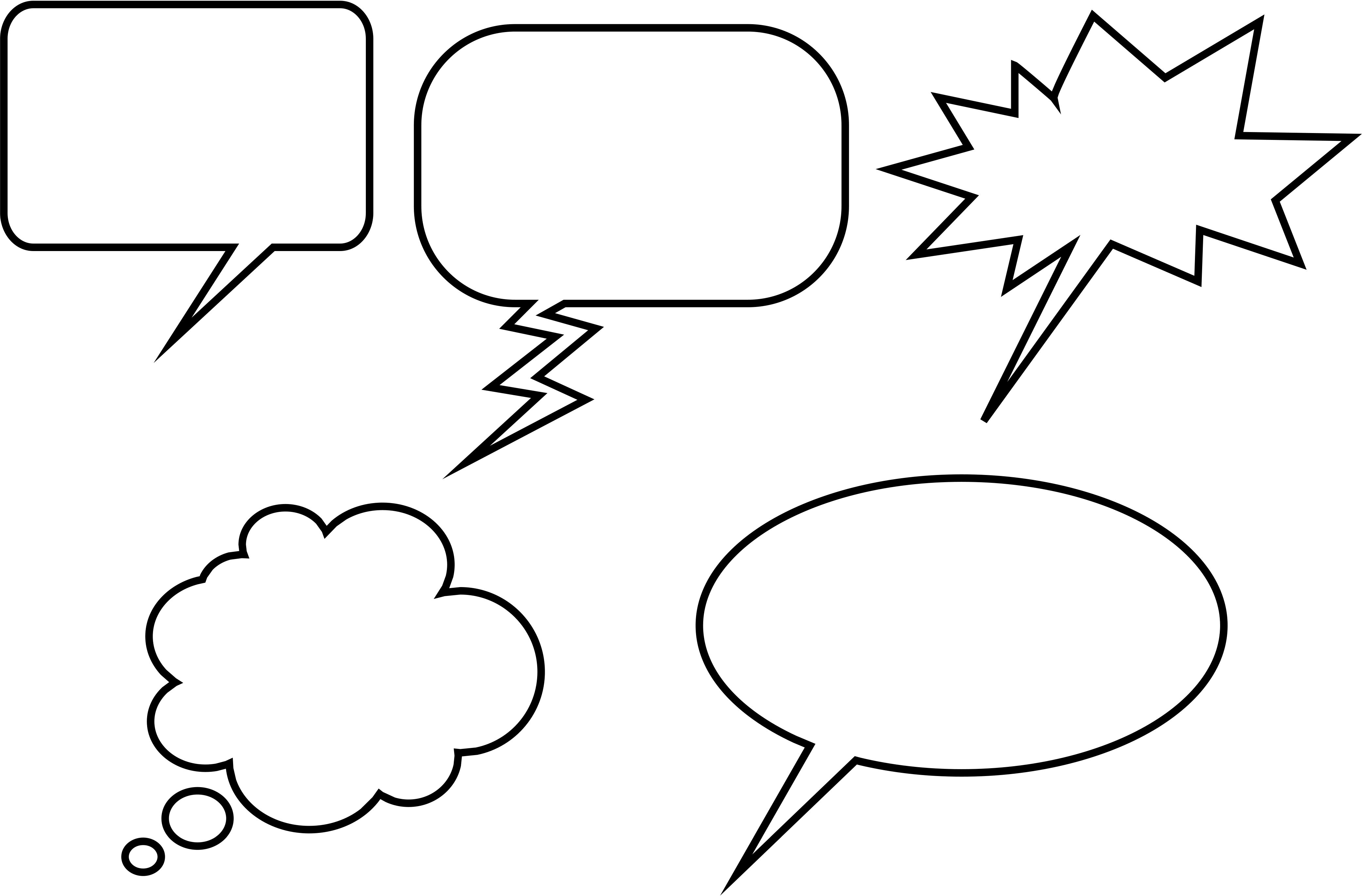 Talk with shopman for buy wine clipart clipart png freeuse stock Comic Book Speech Bubbles Printable - ClipArt Best ... png freeuse stock