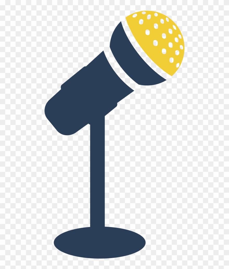 Talker clipart vector free library Mic Clipart Talker - Microphone Stand Icon Png Transparent ... vector free library