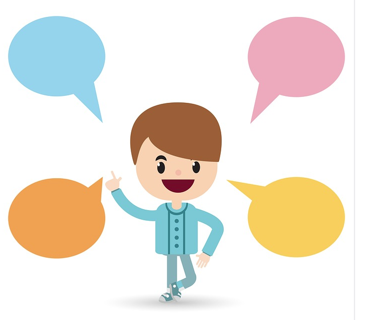 Talker clipart svg library download Children learn to talk at different times. How do you know ... svg library download