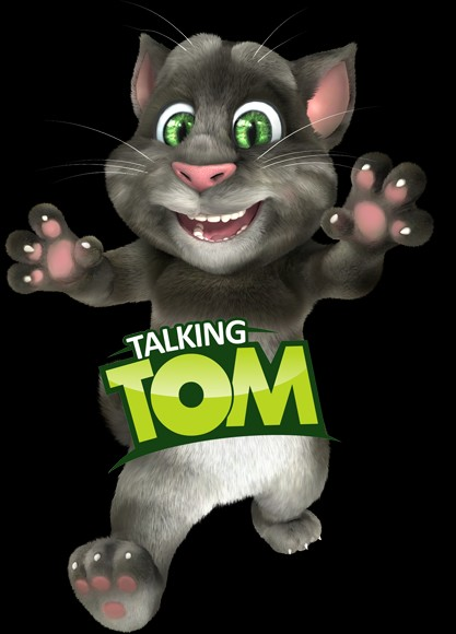 Talking tom clipart banner transparent library Talking Tom Page 1 banner transparent library