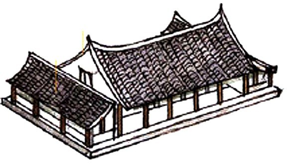 Tall ancient chinese structure clipart royalty free download Traditional Chinese Roofs – ALL THINGS CHINESE royalty free download