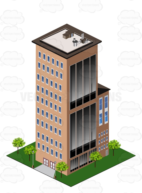 Tall biulding clipart image Tall Building In The City » Clipart Station image