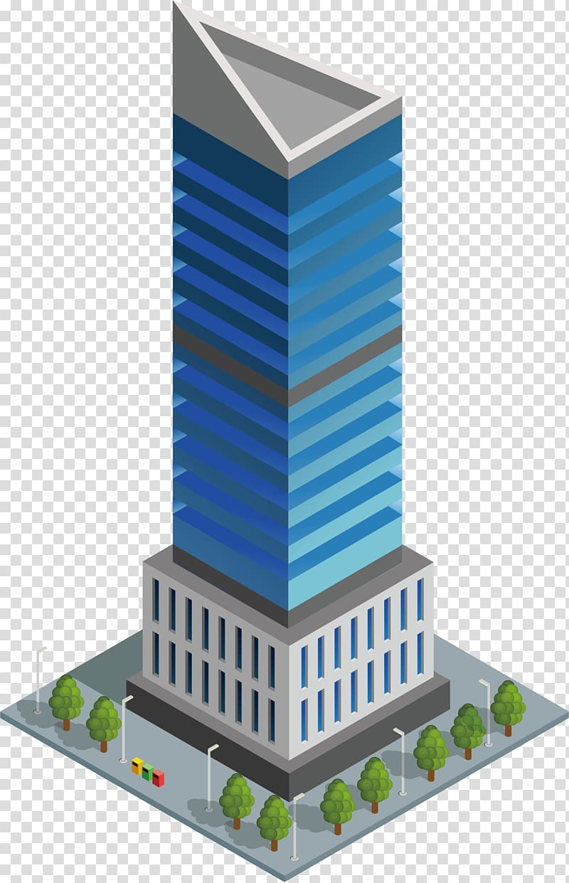 Tall biulding clipart png freeuse library Building Architecture, Triangle tall buildings transparent ... png freeuse library