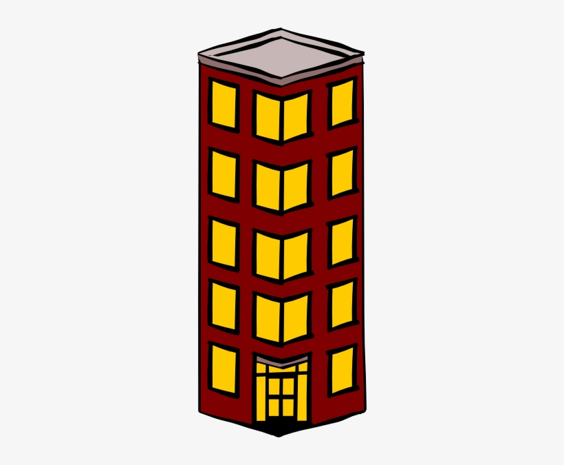 Tall biulding clipart clip art library Tall Building Clipart 3 By Jeffrey - Block Of Flats Clipart ... clip art library