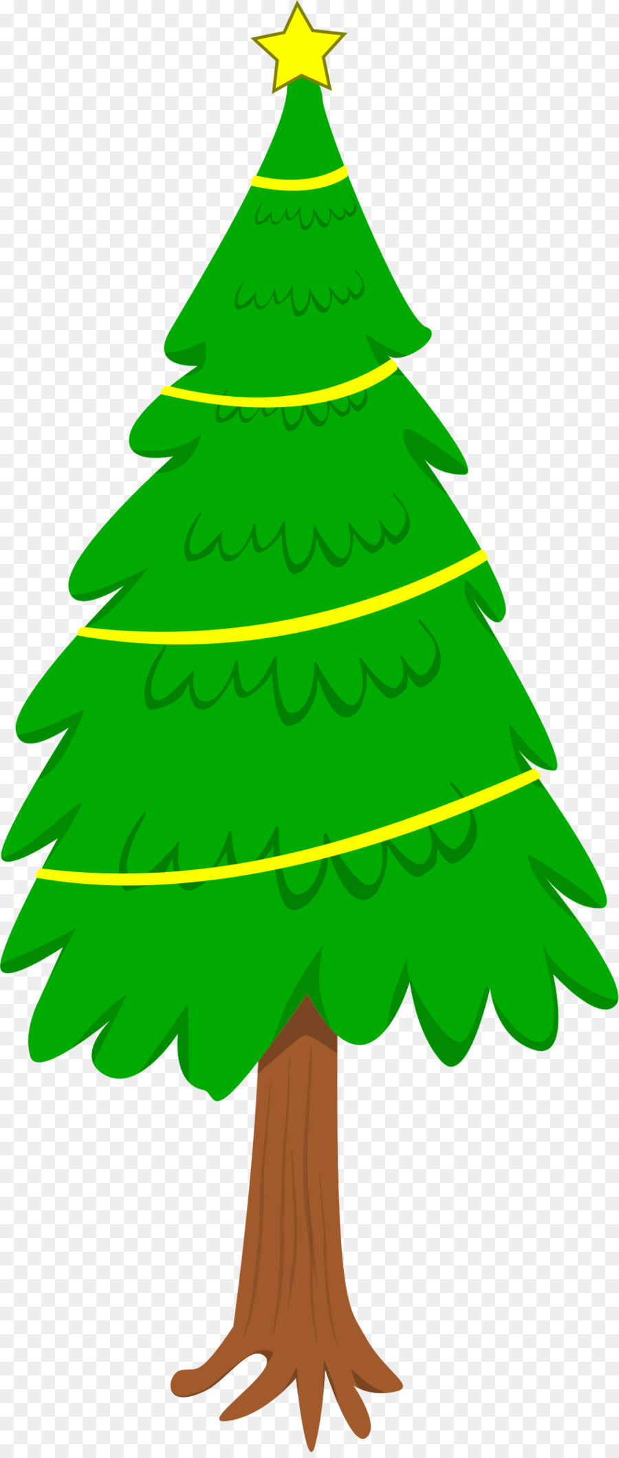 Tall christmas tree clipart black and white stock Christmas Tree Branchtransparent png image & clipart free ... black and white stock