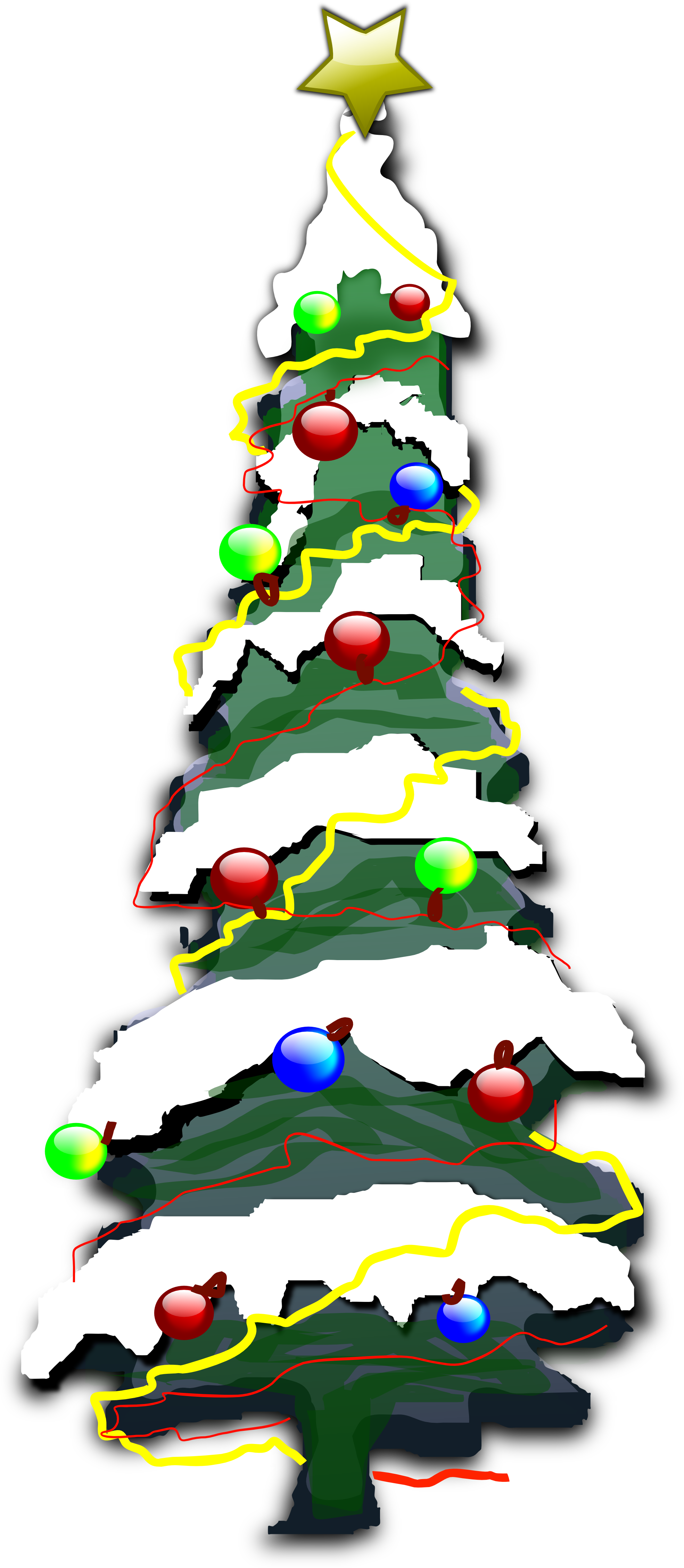 Tall christmas tree clipart clip art freeuse stock CHRISTMAS TREE CLIP ART | CLIP ART - CHRISTMAS 1 - CLIPART ... clip art freeuse stock