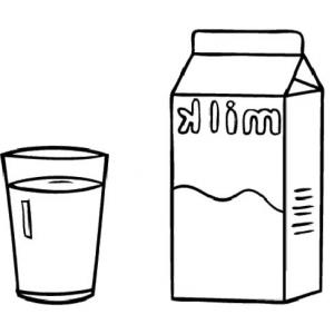 Tall glass of milk clipart picture library Glass Of Milk Clipart | Free download best Glass Of Milk ... picture library