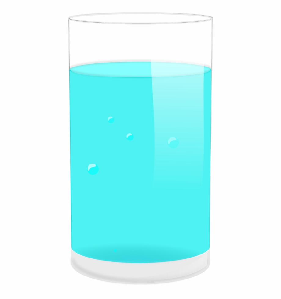 Tall glass of water clipart clipart black and white Glass Of Water Png Clipart, Transparent Png Download For ... clipart black and white