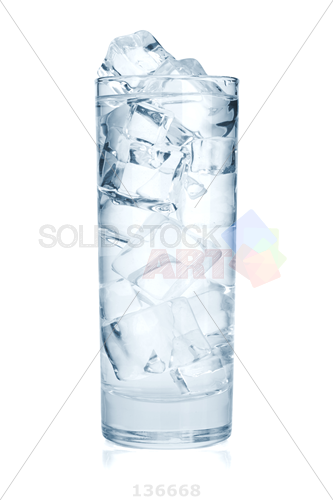 Tall glass of water clipart jpg black and white library Ice In Glass PNG Transparent Ice In Glass.PNG Images.   PlusPNG jpg black and white library