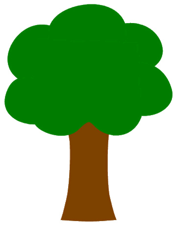 Tall thin fall tree clipart graphic download Tall Tree Clipart - Free Clipart graphic download