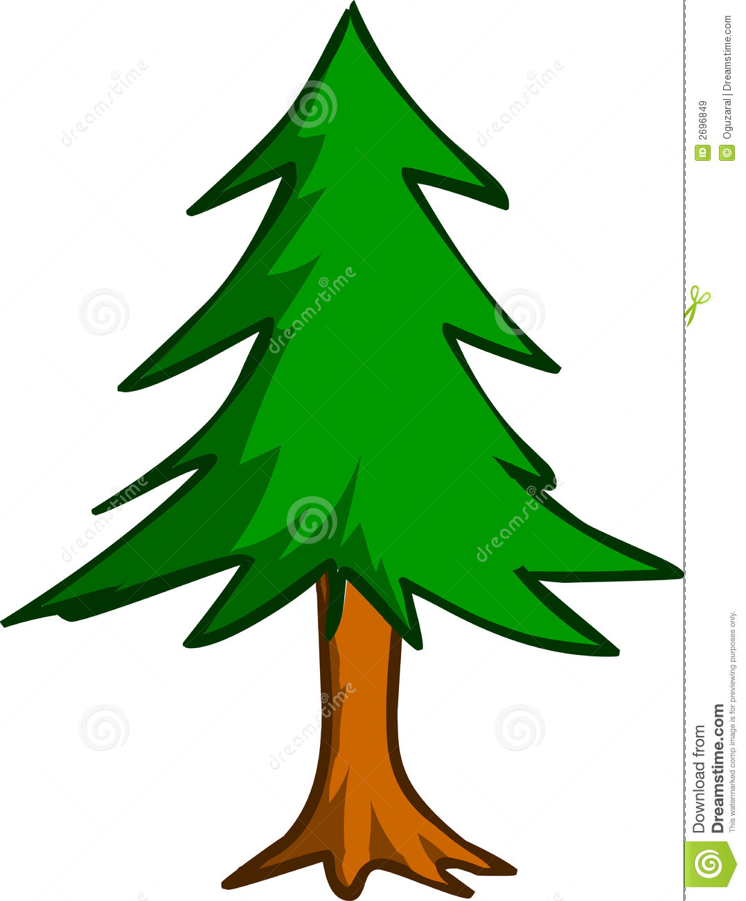 Tall thin tree clipart png freeuse library Pine Tree Clipart - Clipart Kid png freeuse library