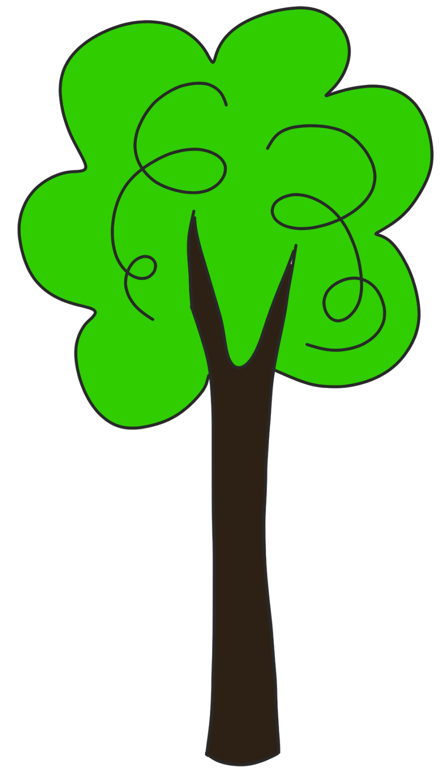 Tall thin tree clipart banner stock Tall thin tree clipart - ClipartFest banner stock