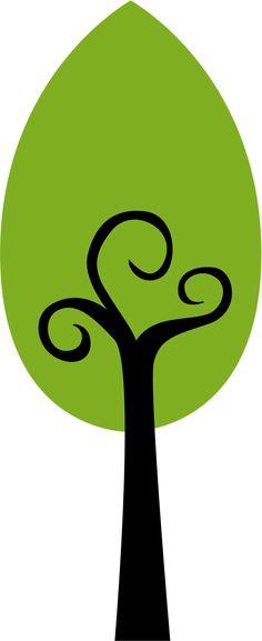 Tall thin tree clipart freeuse stock Tall thin tree clipart - ClipartFox freeuse stock