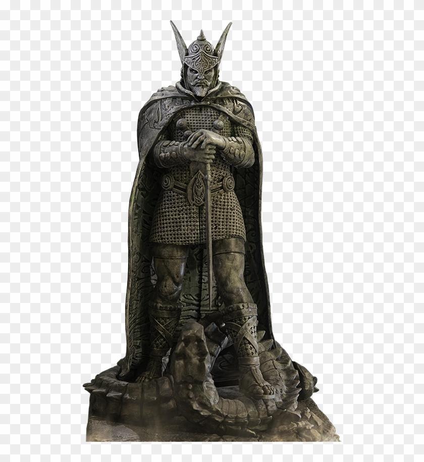 Talos statue clipart jpg transparent The Elder Scrolls - Statue Of Talos, HD Png Download ... jpg transparent