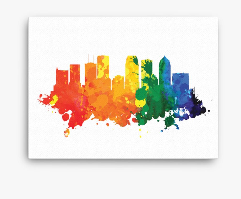 Tampa clipart jpg freeuse Tampa Florida City Skyline - Skyline #2248916 - Free ... jpg freeuse