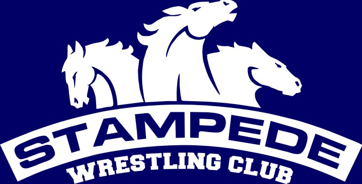 Tamped clipart graphic stock Stampede Wrestling - (A) Stampede Wrestling Navy Frost Tri ... graphic stock