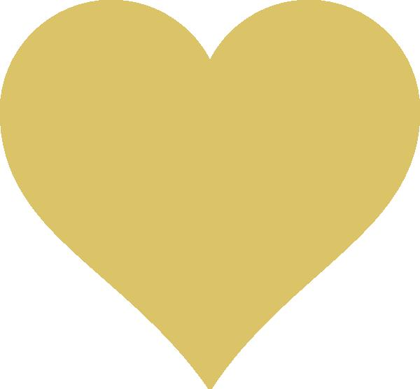 Tan heart clipart png library download Tan Heart Clip Art at Clker.com - vector clip art online, royalty ... png library download