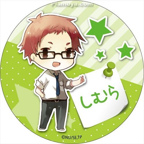 Tanaka kun wa itsumo kedaruge clipart image free library Tanaka-kun wa Itsumo Kedaruge - Shimura - Badge (Contents ... image free library
