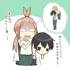 Tanaka kun wa itsumo kedaruge clipart clipart freeuse stock Entries by Samael | page 2 - Zerochan clipart freeuse stock