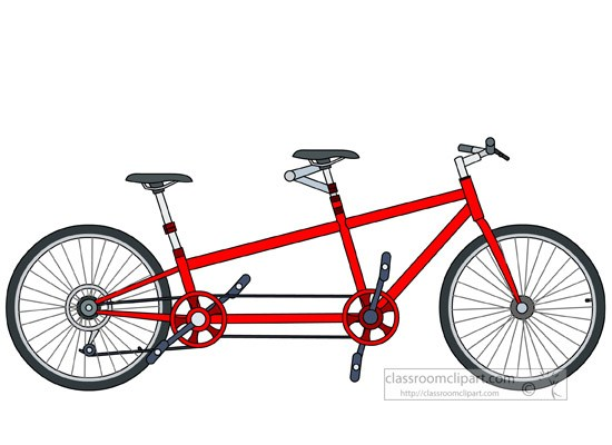 Tandem bicycle clipart clipart library library Tandem bike clipart » Clipart Portal clipart library library