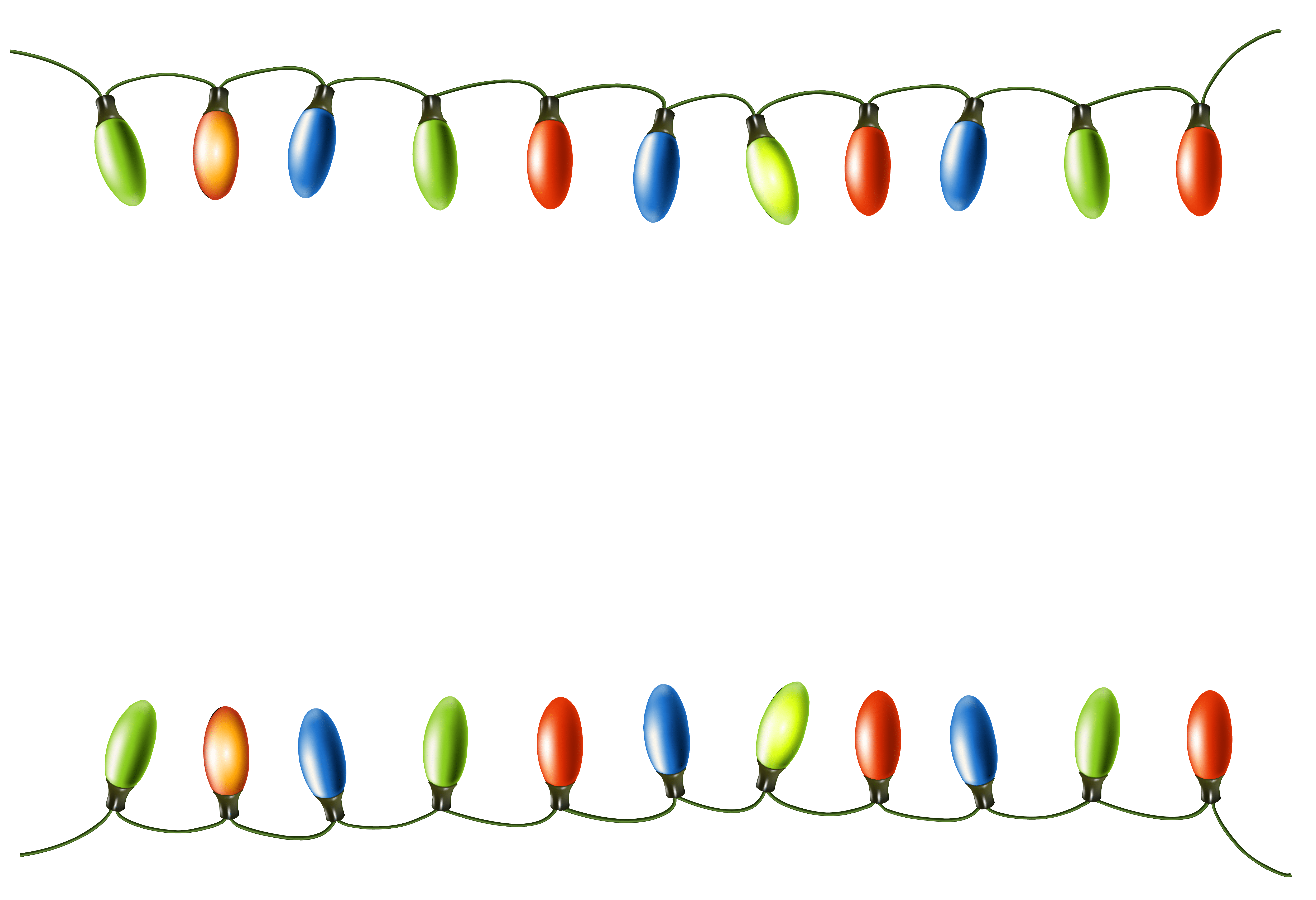 Tangled christmas lights clipart clipart royalty free stock Christmas Lights Border Clipart – Merry Christmas And Happy New Year ... clipart royalty free stock