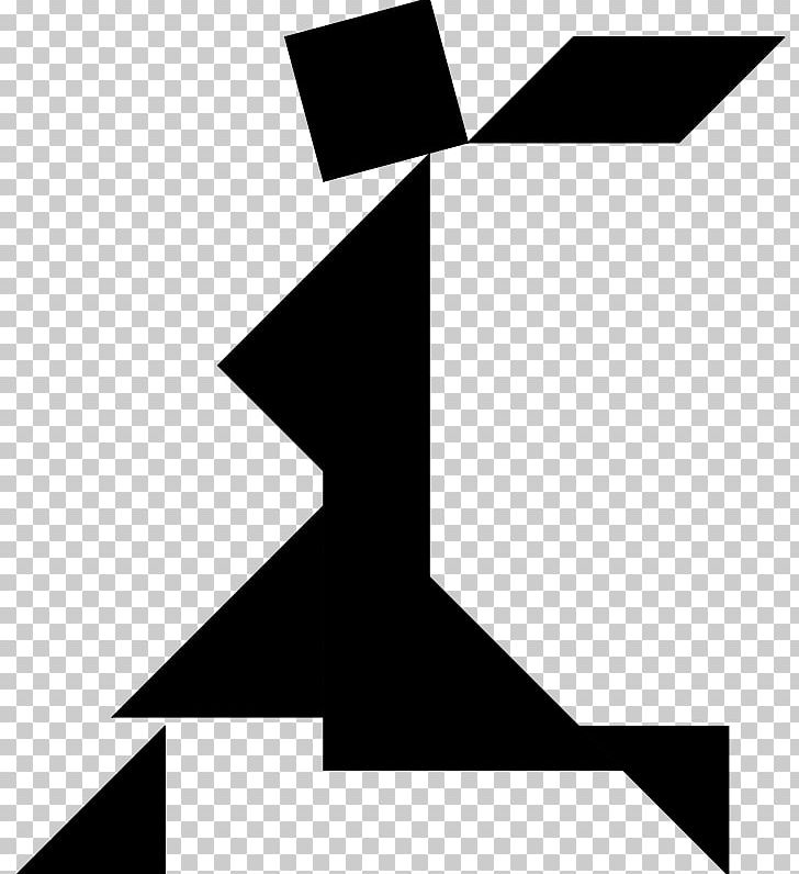 Tangram clipart black and white banner library stock Tangram Puzzle Triangle PNG, Clipart, Angle, Black, Black ... banner library stock
