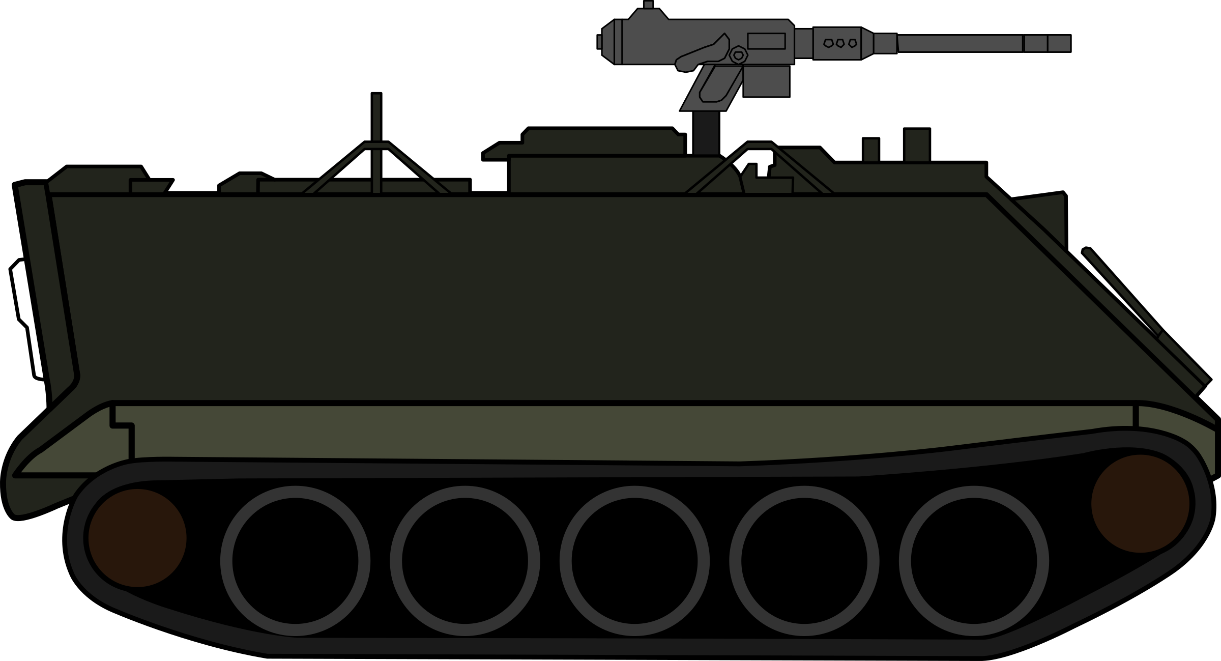 Tank car clipart black and white stock Clipart - M113 Armoured Personnel Carrier black and white stock