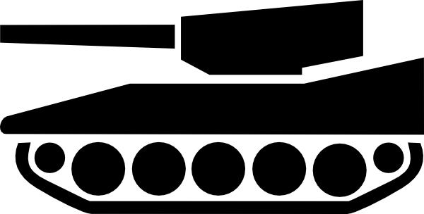 Tank silhouette clipart vector transparent Tank Silhouette clip art (117981) Free SVG Download / 4 Vector vector transparent