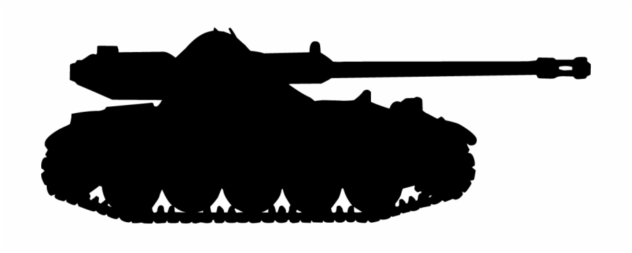 Tank silhouette clipart vector black and white library Scrapbook Silhouette At Getdrawings - Army Tank Clipart ... vector black and white library