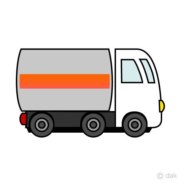 Tank truck clipart graphic library stock Cute Tank Truck Clipart Free Picture|Illustoon graphic library stock