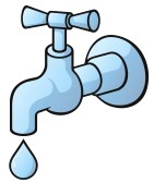 Tap clipart free clip art royalty free stock Water Faucet Clipart Black And White | Clipart Panda - Free ... clip art royalty free stock