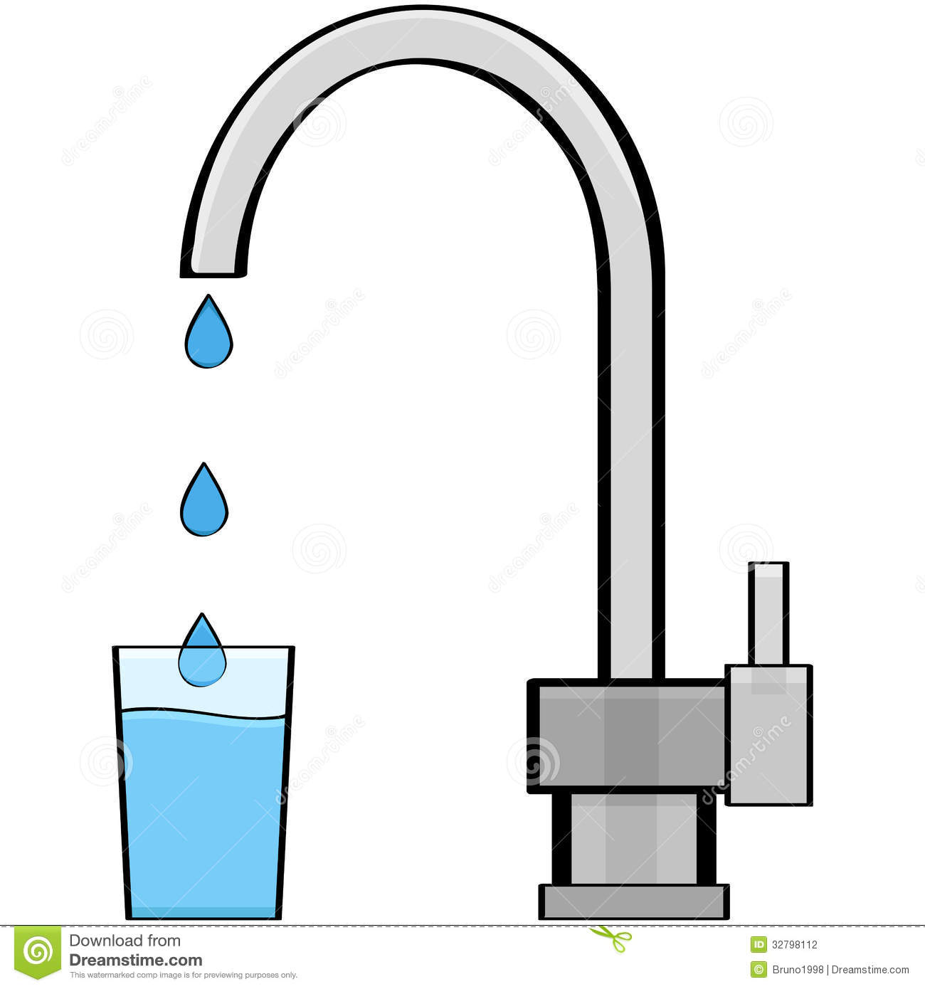 Tap water clipart svg transparent Tap Water Stock Photography Image: 32798112 - Free Clipart svg transparent