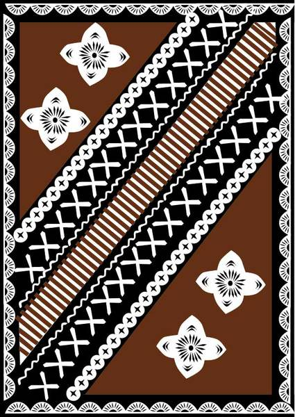 Tapa cloth clipart png stock Free Fijian Tapa Design Vector clip arts, clip art ... png stock