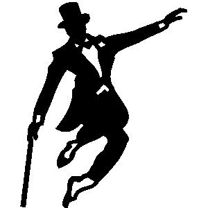 Tapdancer clipart vector library Tap Dancer Clipart - Clip Art Library vector library