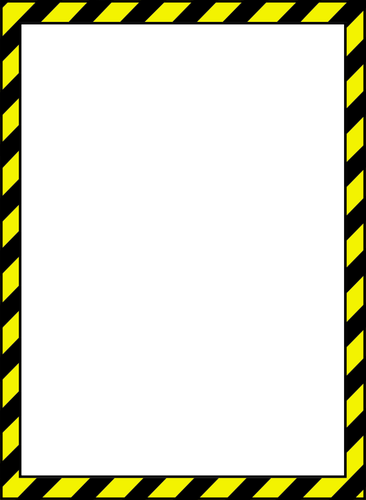 Tape corners clipart jpg freeuse download caution tape clip art | Vector image of caution style border ... jpg freeuse download
