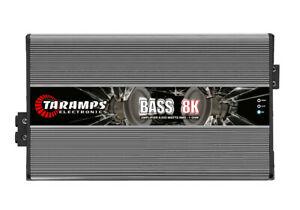 Taramp s clipart clip royalty free Taramps BASS 8000 1 Ch 8K watts RMS 1 OHM w/ US warranty ... clip royalty free