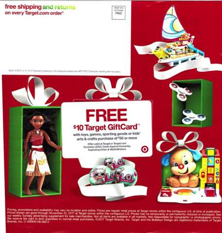 target christmas toy ad vector freeuse
