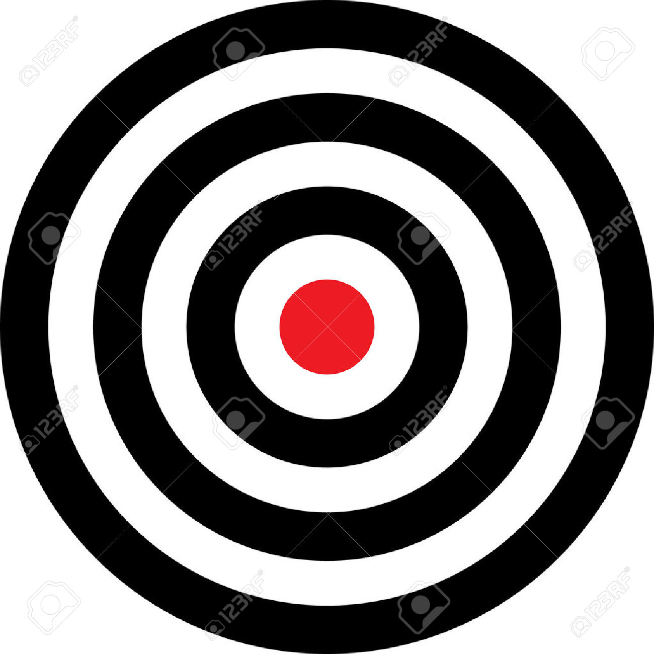 Target clipart no background jpg library stock Vector Transparent Target Illustration. Put This Target On Your ... jpg library stock