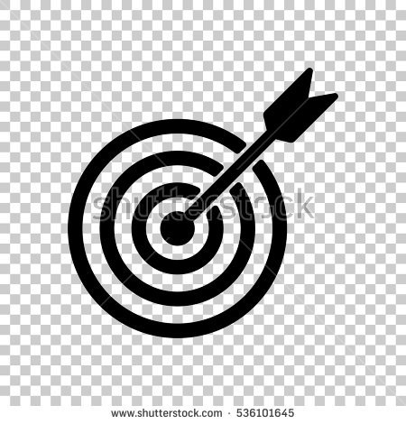 Target clipart no background clip library Target Dart Flat Style Icon On Stock Vector 376855708 - Shutterstock clip library