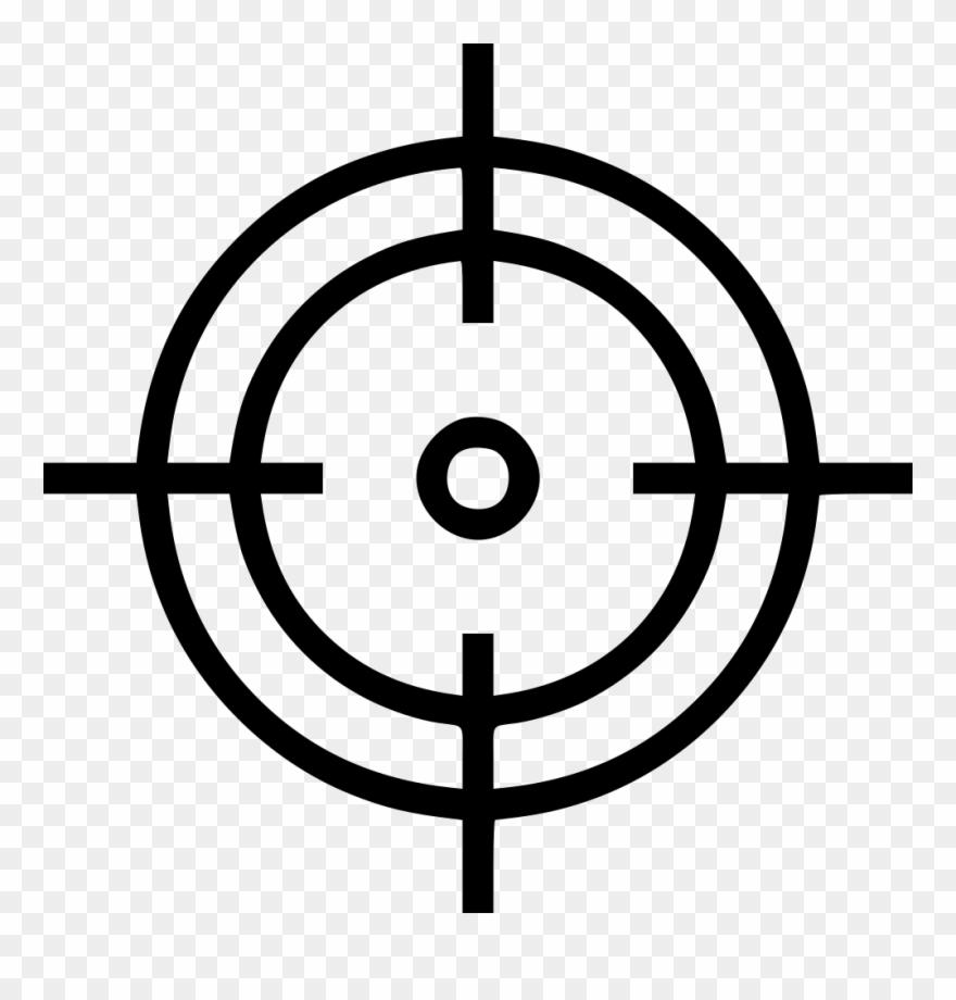 Target cross clipart clip art royalty free stock Crosshair Aim Shoot Target - Png Target Clipart (#541323 ... clip art royalty free stock